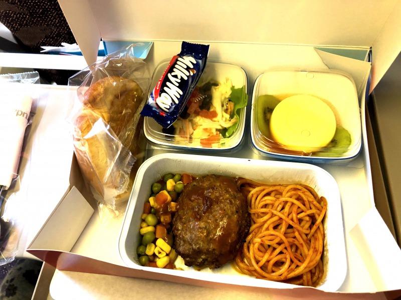 ガルーダインドネシア航空機内食キッズミール