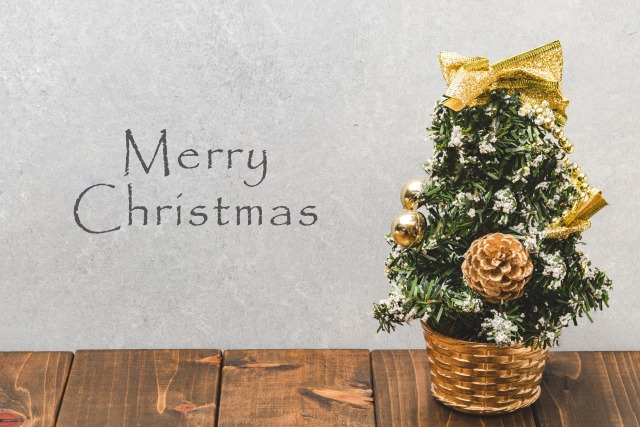 緑クリスマスツリー