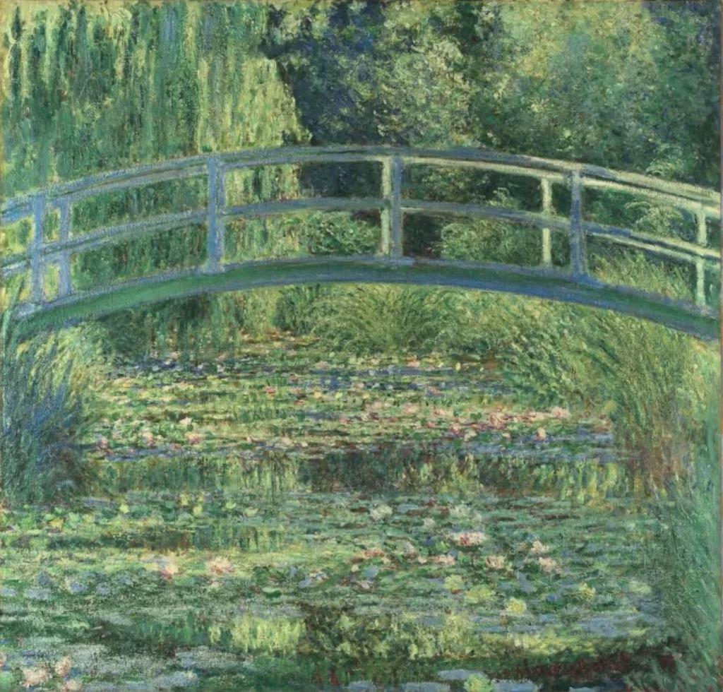 モネ「睡蓮の池」