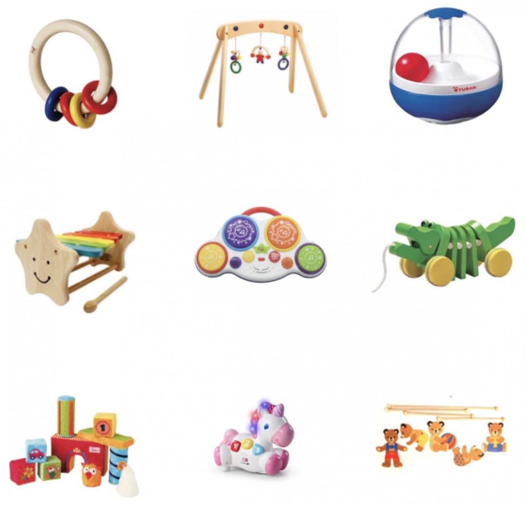 トイサブ0〜1歳おもちゃ例